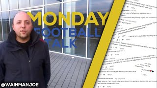 Monday Football Talk | @WAINMANJOE DISSECTS THE ORACLE PHIL HAYS COMMENTS