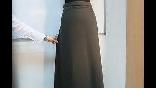 Kalıp Kullanmadan Pratik Çan Etek Nasıl Dikilir? - Practical Bell Skirt How To S
