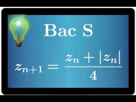 suite de nombres complexe - BAC S Antilles Guyane 2015 - Très important 💡💡💡💡