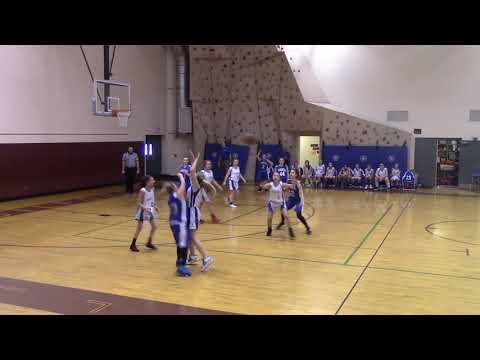 Gilford Middle School Girls vs Franklin 2-4-19