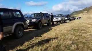 מסע ג'יפים בהרי הקרפטים לצוות ניר