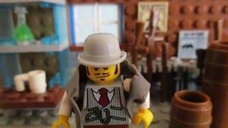 LEGO HATEFUL EIGHT TRAILER/ ЛЕГО ОМЕРЗИТЕЛЬНАЯ ВОСЬМЕРКА ТРЕЙЛЕР