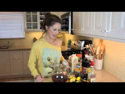 Blackberry Spiced Rum Cocktail