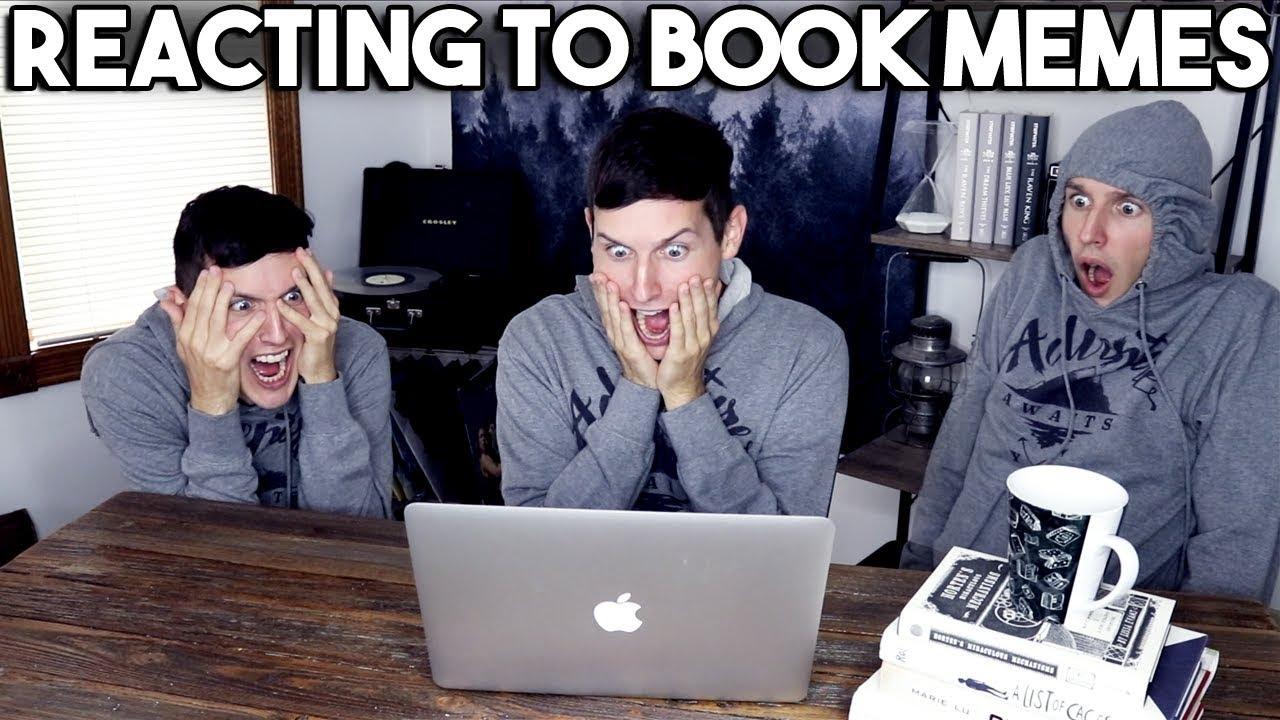 Reacting to book memes take two