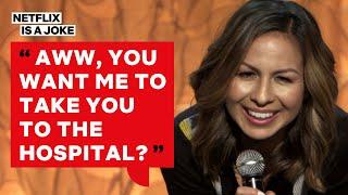 Why Anjelah Johnson Told Her Husband to 'Man Up' | Netflix Is A Joke