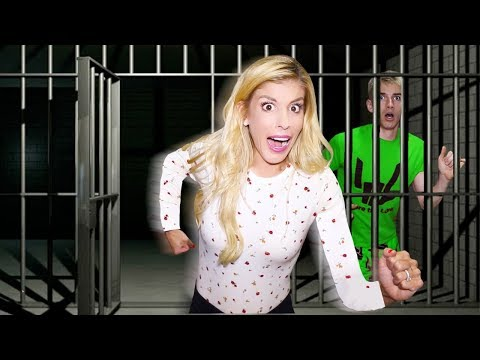 Escaping ABANDONED Prison in TOP SECRET Location with Stephen Sharer! (Hidden Mystery Box Found)