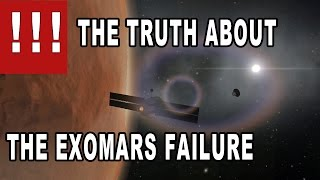 What REALLY happened with the Schiaparelli Lander - ExoMars mission in Kerbal Space Program