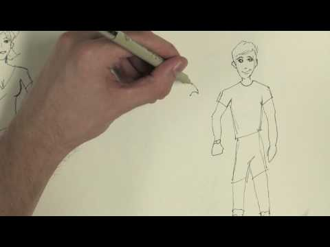 Drawing: Cartoons & Fashion : How to Draw Boys' Clothes