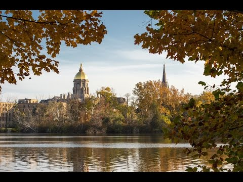 Fall at Notre Dame