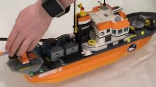 LEGO - Sink or float? Will these LEGO boats float - Half term mayhem special #2