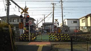 【台町踏切を通過するE353系電車】JR中央線 「台町踏切」 part14 その2 (撮影日 2018年 3月15日)