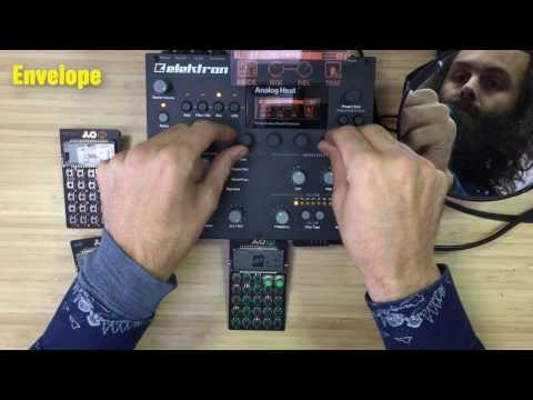 Elektron Analog Heat Basic Tutorial + Mega Demo
