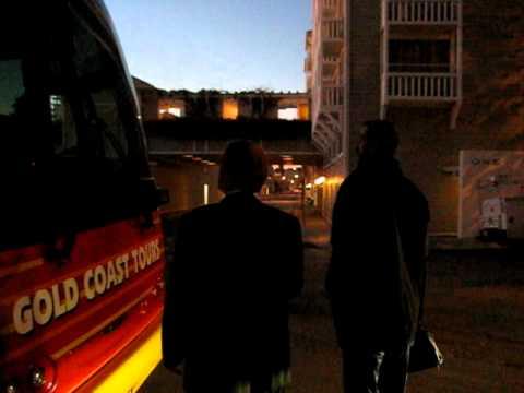 Manu Ginobili interacting with fans and travel staff in Santa Monica - iFolloSports.com