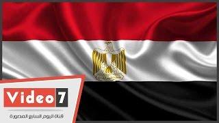 بالفيديو   رفع العلم المصرى أعلى النصب التذكارى بالتحرير
