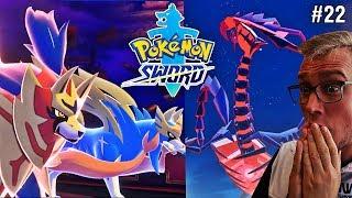 ETERNATUS ATAKUJE ! ZACIAN I ZAMAZENTA RUSZAJĄ NA RATUNEK (Pokemon Sword, odc. 22)