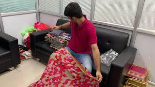New Georgette Printed Saree Collection From Surat Saree Manufacturer Vivera International