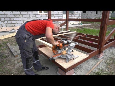 Строительство беседки с мангалом своими руками пошагово