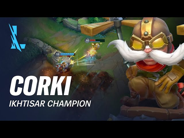 Ikhtisar Champion Corki | Pola Permainan - League of Legends: Wild Rift