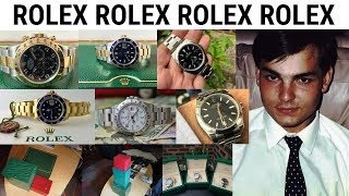 LIVE FROM BANGKOK THAILAND - The hunt for Rolex Steel Sports Watches