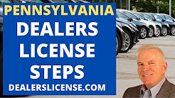 Pennsylvania Dealer License