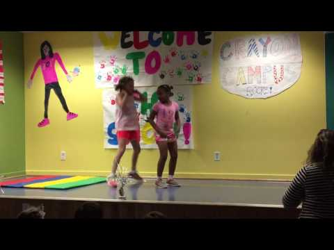 Leah's talent show at Crayon Campus