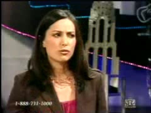 Robia LaMorte interview on TBN with Paul Crouch Jr. Part 1