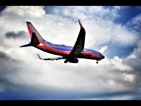 Airplanes Landing at Washington's National Airport DCA