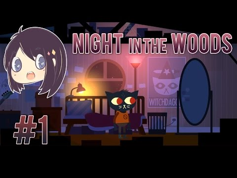 Mae pulang kampung :DD | Night in the Woods Indonesia #1
