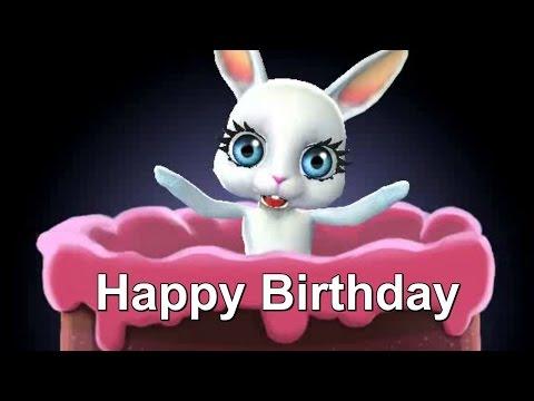 Happy Birthday to You Geburtstag Bunny