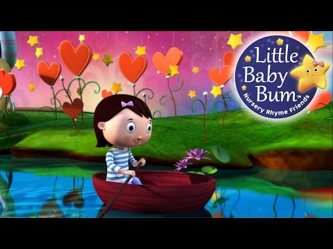 Row Row Row Your Boat | Nursery Rhymes | by LittleBabyBum!