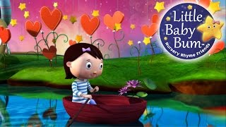 Row Row Row Your Boat | Nursery Rhymes | HD version from LittleBabyBum