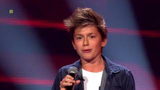 The Voice Kids - Antek Scardina - ,,Can't stop the feeling''