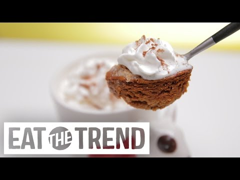 How to Make Microwave Mug Pumpkin Pie in 3 Minutes | Eat the Trend
