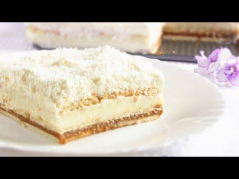 Простой торт из печенья без выпечки