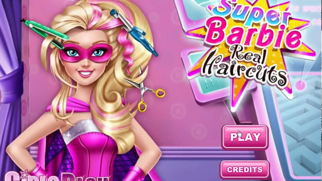 Super Barbie Real Haircuts Youtube