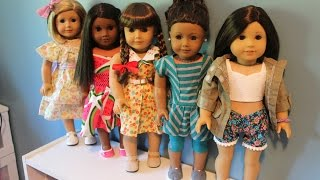 American Girl Doll Outfits Of The Week(OOTW)!!