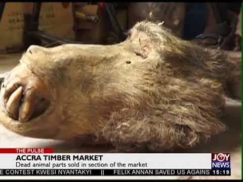 Accra Timber Market - The Pulse on Joy News (4-5-18)