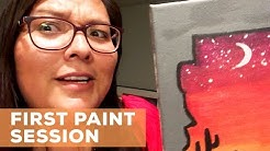 PAINT PARTY IN DOWNTOWN PHOENIX | HARD IN THE PAINT