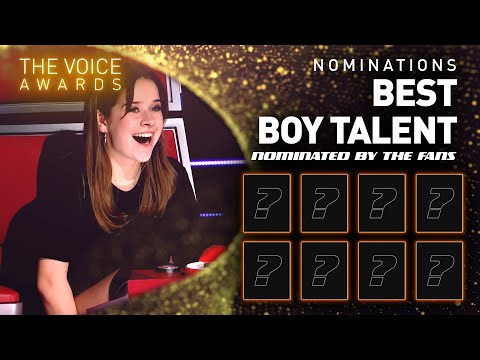 BEST BOY TALENT nominees! 🤩 | The Voice Kids Awards