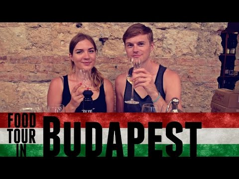 AMAZING WALKING FOOD TOUR IN BUDAPEST! | Daily Travel Vlog 126, Hungary, HD