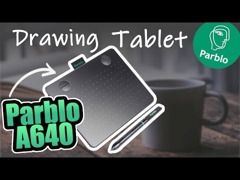 PARBLO A640 Drawing Tablet | Review & Unboxing