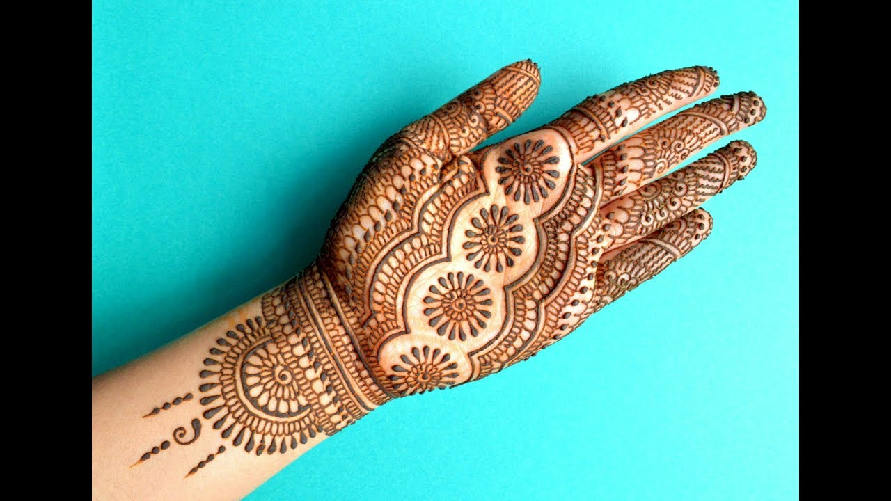 Traditional Henna Designs: TRADITIONAL INDIAN RAJASTHANI DULHAN MEHENDI FULL HANDS