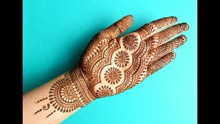 TRADITIONAL INDIAN RAJASTHANI DULHAN MEHENDI FULL HANDS | MARWARI BRIDAL HENNA MEHNDI DESIGN