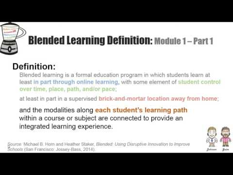 Blended Learning Definition