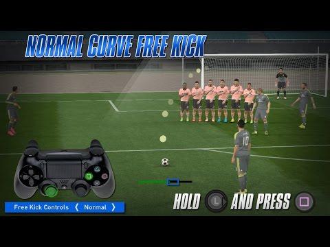 PES 2016 Free Kick Tutorial [PS3, PS4]