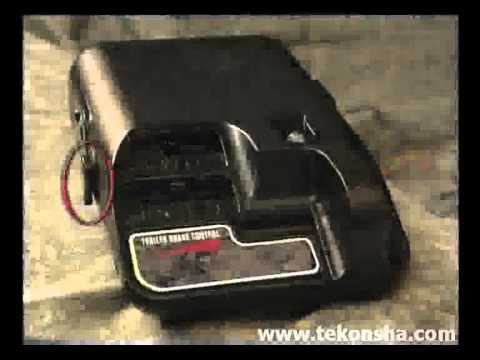 Trailor Wiring Diagram Parallel For Subs Tekonsha Accutrac 80510 Electronic Brake Controller - Youtube