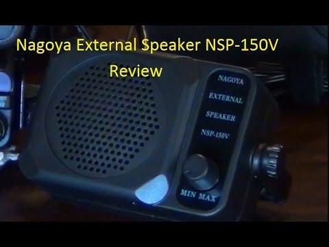 Nagoya External Speaker NSP-150V Review - AF5DN