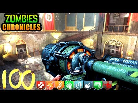 KINO DER TOTEN ROUND 100 COMPLETE! BLACK OPS 3 ZOMBIES!