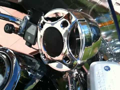 Shark 250 Watt Style 2 Motorcycle Speaker System Youtube