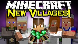 Minecraft NEW VILLAGE MOD Spotlight! - NEW NPC